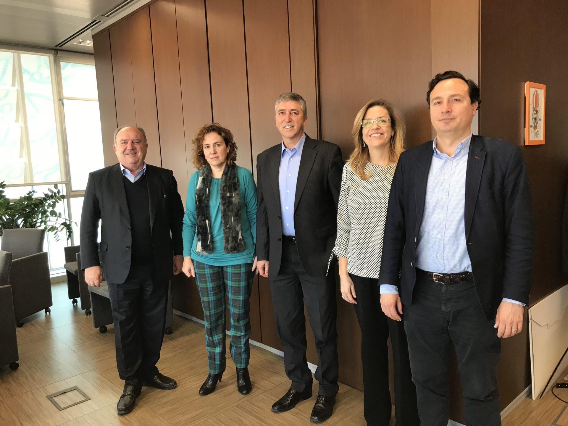 Reunió de FEPEVAL amb el Conseller Rafael Climent i la directora general del IVACE Júlia Company.