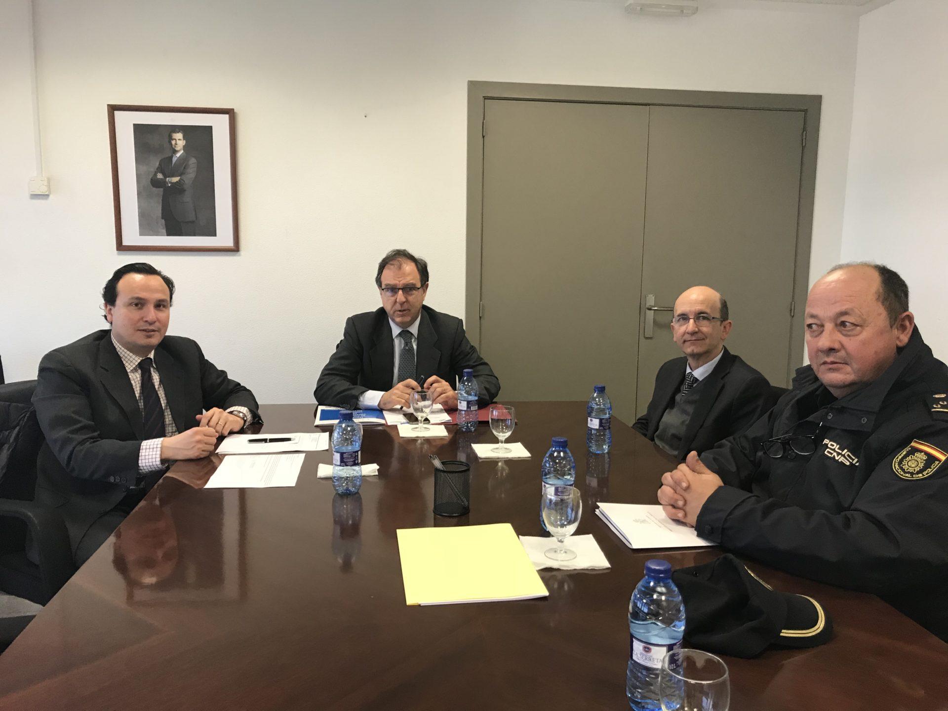 La Federació de Polígons Empresarials de la Comunitat Valenciana reclama millores de mobilitat i seguretat de les àrees industrials al Subdelegat del Govern