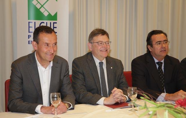 Puig es compromet a accelerar l'ampliació del parc empresarial d'Elx