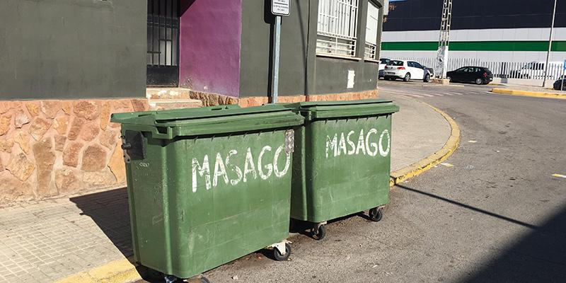Fuente del Jarro lamenta la ausencia de recogida selectiva de residuos