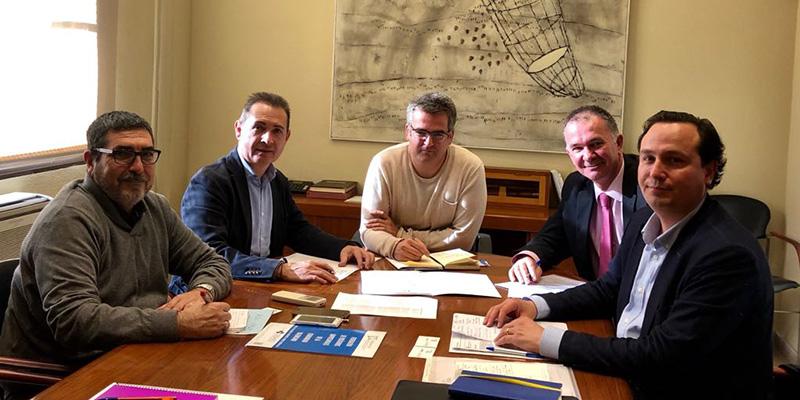 FEPEVAL i ASIVISA es reuneixen amb l'Ajuntament de Xirivella