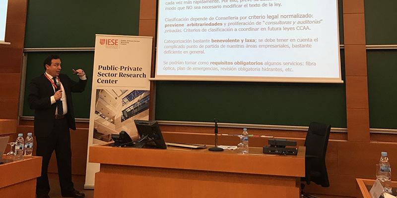 FEPEVAL participa en la II jornada de Gestió Pública sobre àrees industrials organitzada per IESE a Barcelona