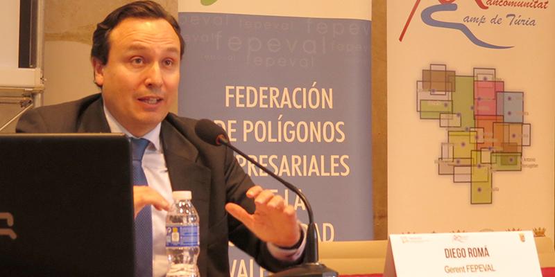"""Diego Romá: """"La aprovació de la nova Llei d'Àrees Industrials generarà servicis de valor afegit i potenciarà la competitivitat de les empreses."""""""