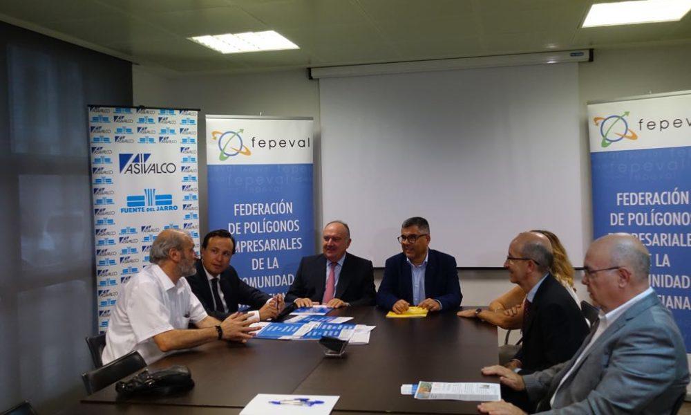 Fepeval transmite al delegado del Gobierno las reivindicaciones de las distintas áreas industriales en materia de conexiones e infraestructuras