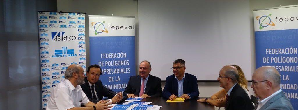 Fepeval transmet al delegat del Govern les reivindicacions de les diferents àrees industrials en matèria de connexions i infraestructures