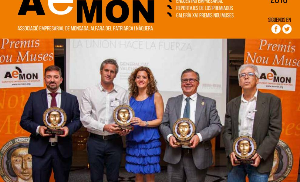 Descarga la nueva edición 2018 de la Revista AEMON