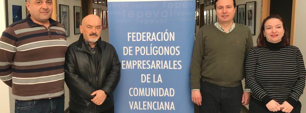 FEPEVAL apoya la iniciativa de promover el suelo industrial en el polígono del Llano en Buñol