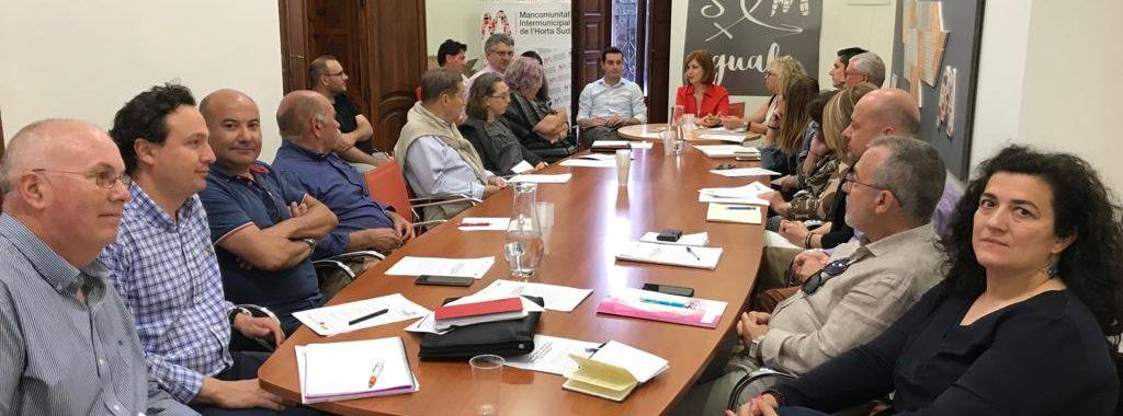 Les Àrees industrials de l'Horta Sud coneixen l'Acord Comarcal d'Ocupació