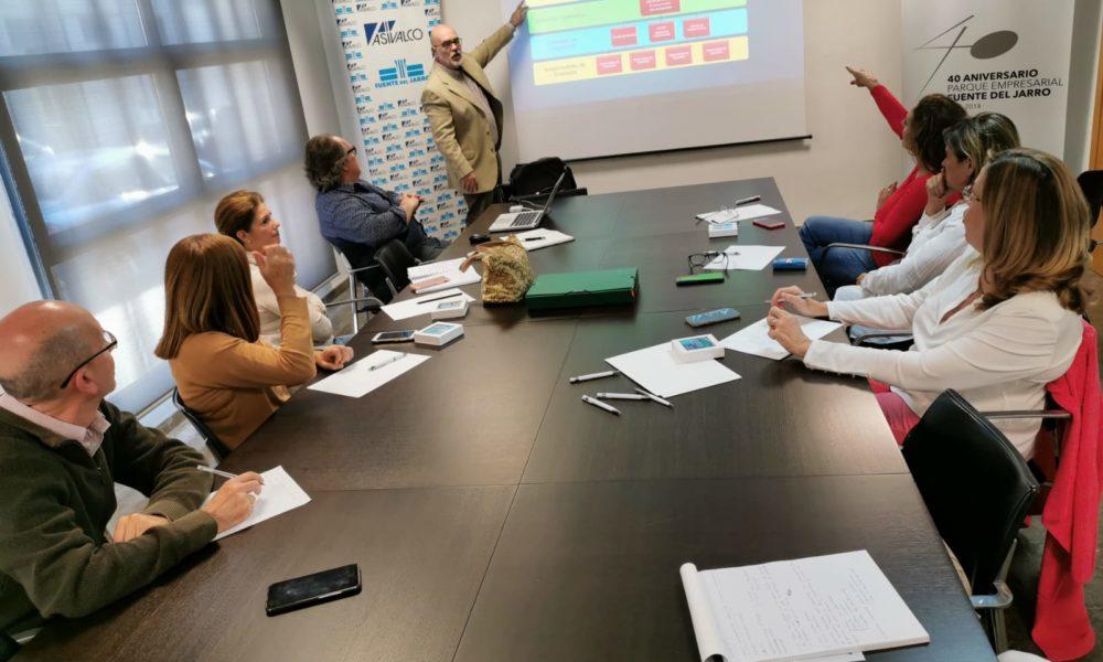 Representants d'àrees Empresarials de Paterna i Albuixech Massalfassar es formen en coordinació davant emergències