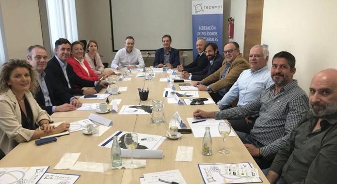 Polígons d'Alacant es reuneixen per a debatre el futur de les àrees empresarials de la província