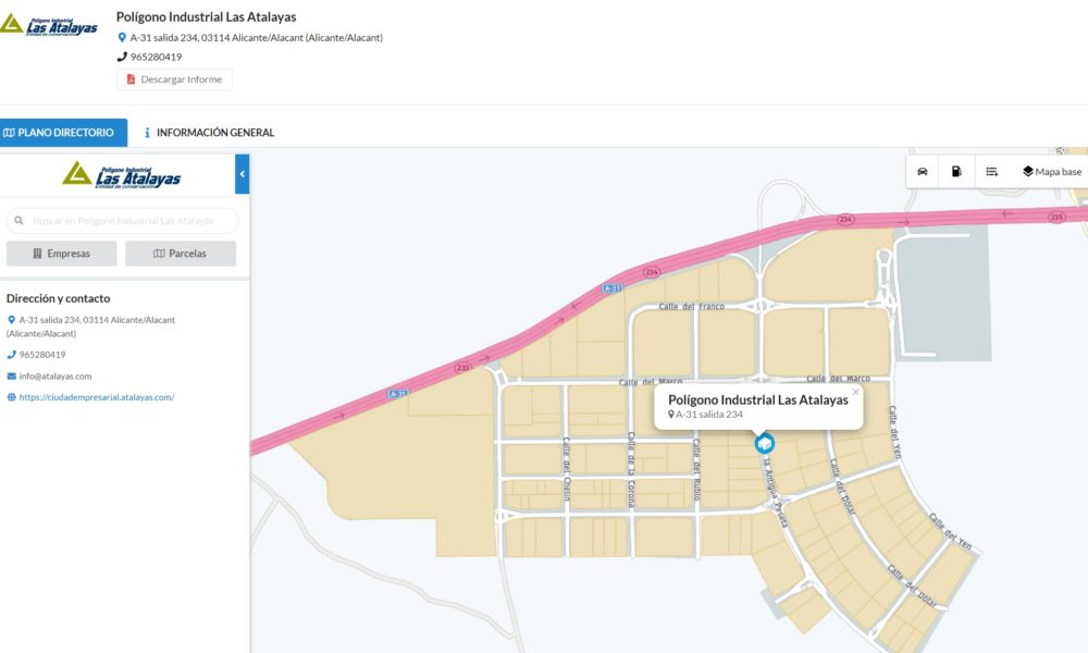 Fepeval implanta una eina per a facilitar la gestió d'àrees empresarials i completar el mapa industrial de la Comunitat
