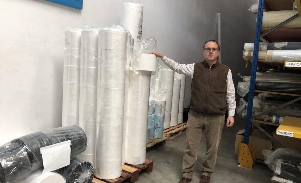 «Volem col·laborar», Gonzalo Julián Orduña, gerent de Tèxtil Batàvia