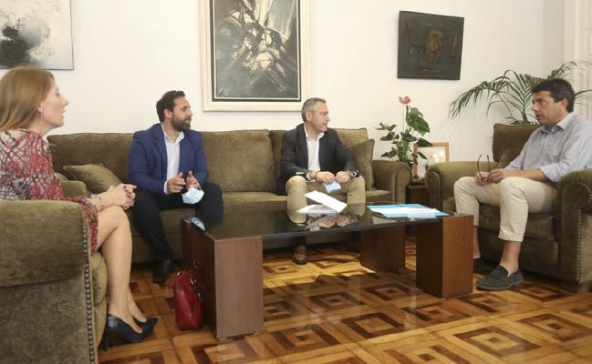 Fepeval i Diputació d'Alacant estudien vies de col·laboració per a afavorir la recuperació econòmica i reforçar la competitivitat empresarial