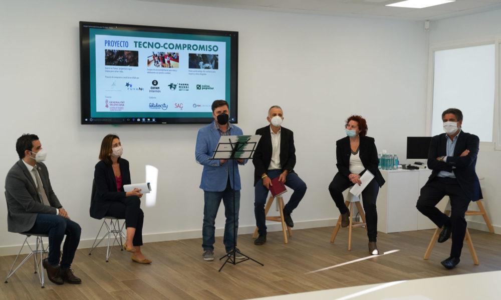 Tecno-compromís busca el suport d'empreses i treballadors per a projectes solidaris de Farmamundi, Fuvane i Oxfam Intermon