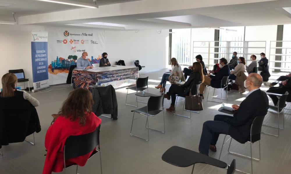 Fepeval, en col·laboració d'IVACE, impulsa la Llei d'Àrees Industrials en 12 municipis de la Comunitat