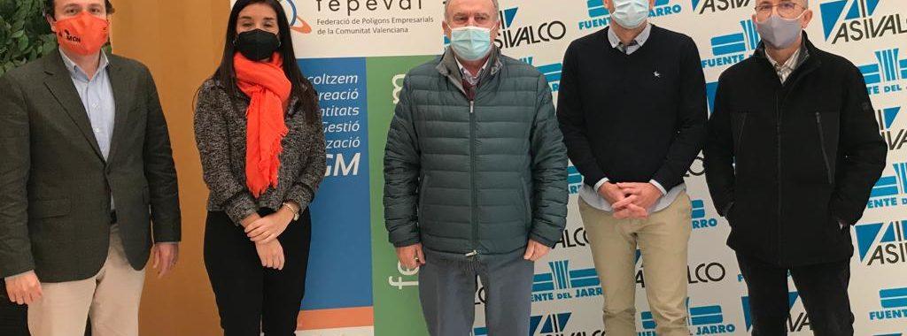 Fepeval traslada a los representantes de Ciudadanos en Les Corts las necesidades de los parques empresariales