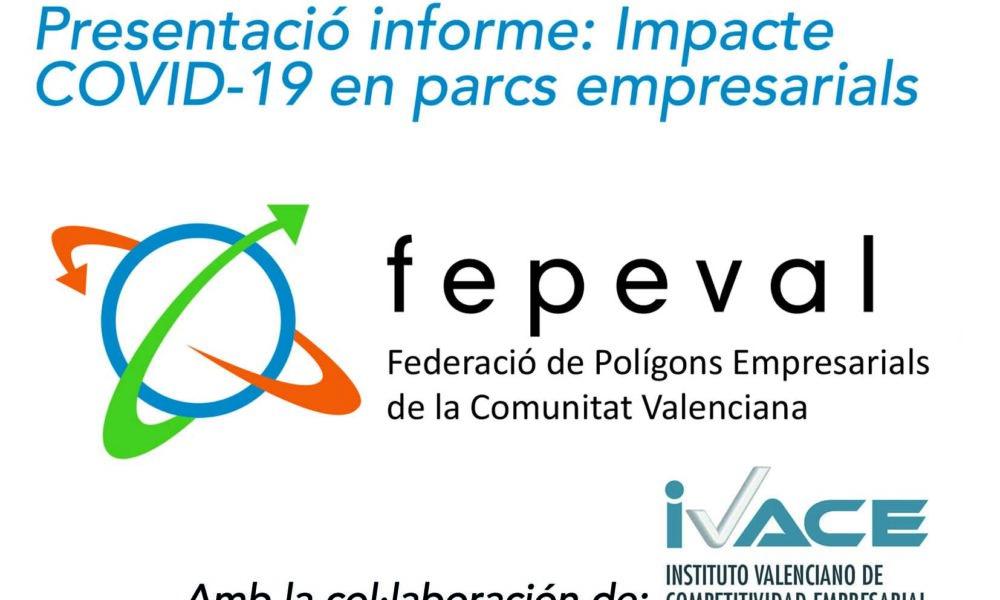 Presentació informe FEPEVAL: impacte COVID-19 en parcs empresarials