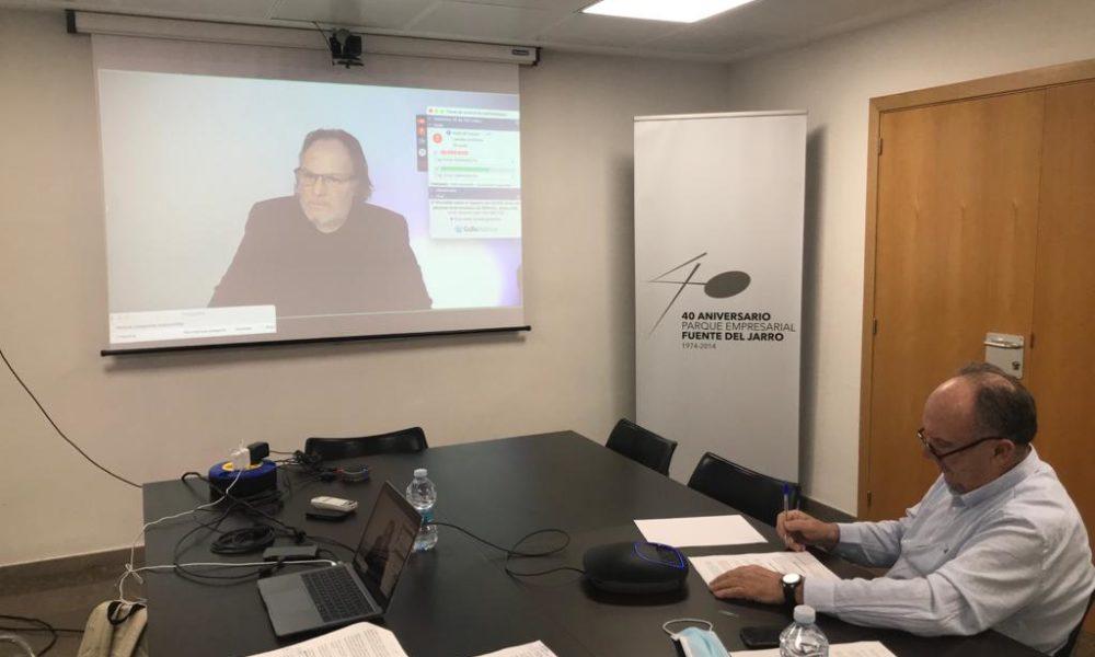 IVACE. El Conseller Climent destaca la labor de Fepeval en el desenvolupament de la Llei d'Àrees i la constitució de les Entitats de Gestió i Modernització en la Comunitat