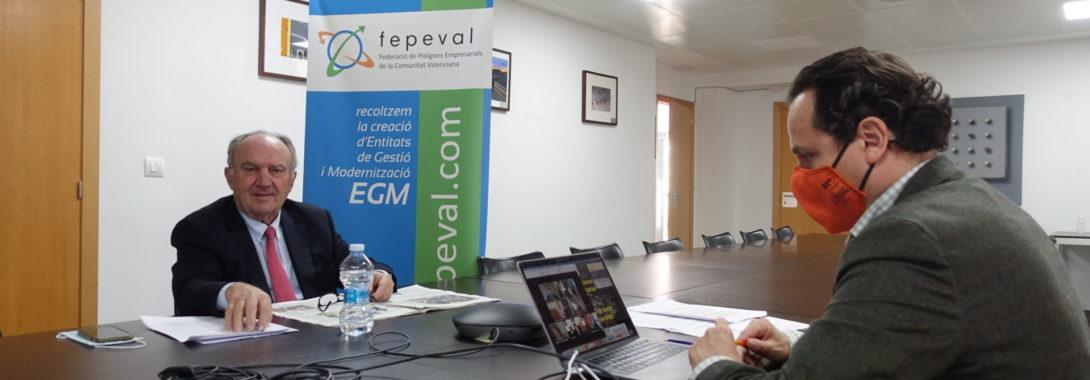FEPEVAL, Generalitat i FVMP defensen la necessitat d'afavorir la gestió àgil i sostenible del sòl industrial