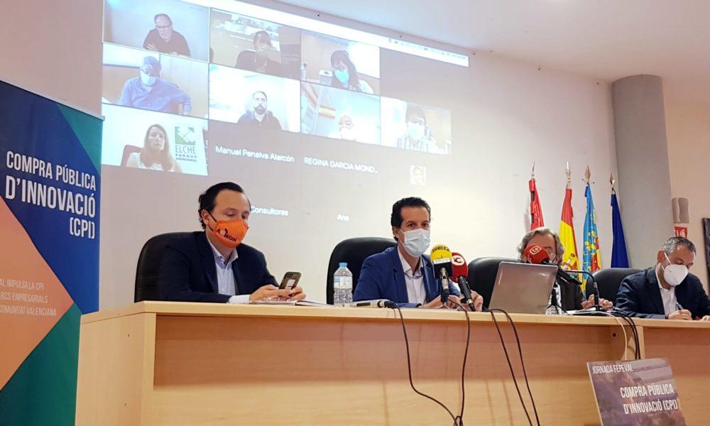 Jornades de Fepeval a Elda per a impulsar la compra pública d'innovació entre l'empresariat