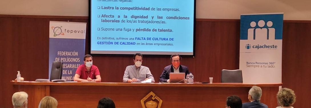 Fepeval col·labora amb l'Ajuntament de Cheste per a impulsar la creació de EGMs en les seues àrees empresarials